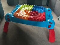 Mega Blocks Table