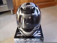 Motorbike Full Face Helmet Size Med Quad Scooter Buggy Karts Mini Moto Go-Karts ATV Pit Bike Stomp