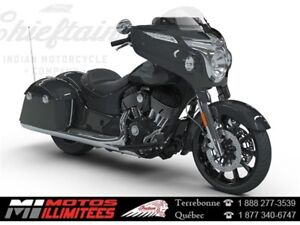 2018 Indian Motorcycles Chieftain 3.99% 72 mois, 1500,00$ + 500,