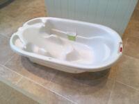 Mamas&Papas Acqua Bambino Two Stage Bath - Pearl White