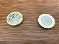 NEW ONE POUND COINS 2016 RARE