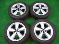 "FORD FOCUS, GALAXY, TRANSIT CONNECT, MONDEO, C-MAX, S-MAX, 16"" inch ALLOY WHEELS"