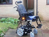 Invacare Spectra XTR2 6mph Electric Power Wheelchair 2015. Powered Seat Lift, Tilt and Recline.