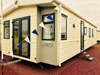 caravan for sale at sandy bay holiday park with direct access to beach open 12 months