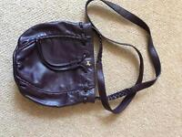 Radley Handbag Maroon/Burgundy