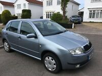 Scoda Fabia 1.4 low mileage