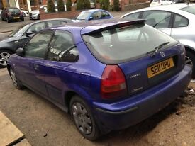 S Reg 1.4 Honda Civic illusion GENUINE low mileage 49000