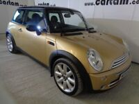 2004 Mini Cooper 1.6 Chili 72k FSH Leather PanRoof Alloys Climate 6 stack CD HPi Clear New Clutch