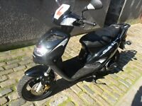 Black Generic Cracker 50cc twist and go scooter in very good condition with low milage.