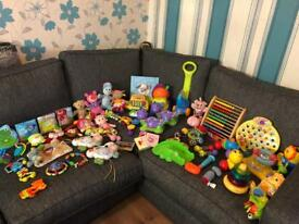 BABY TOY BUNDLE ( LIKE NEW )