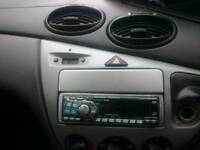 Ford focus stereo panel so you can fit smaller unit