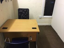 office room to let @ E2 6AH all bills inclusive cheapest rent near city near station available now!!