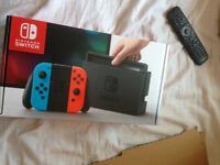Nintendo Switch Console - Neon Blue and Red sealed and unsued