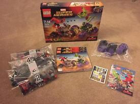 Lego 76078 Hulk Vs Red Hulk No M'figs