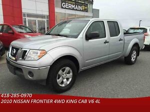 2010 NISSAN FRONTIER 4WD KING CAB -AUTO-4X4-MAGS-CRUISE-ATTELAGE