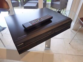 Toshiba DVR20KB DVD Video Cassette Player Recorder with Freeview