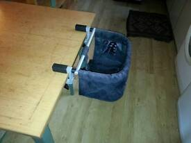 Table baby chair portable