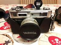 Yashica electro 35 gsn camera