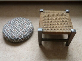 Two small stools
