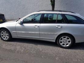 Mercedes benz C220cdi automatic silver