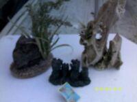 fish tank ornimants