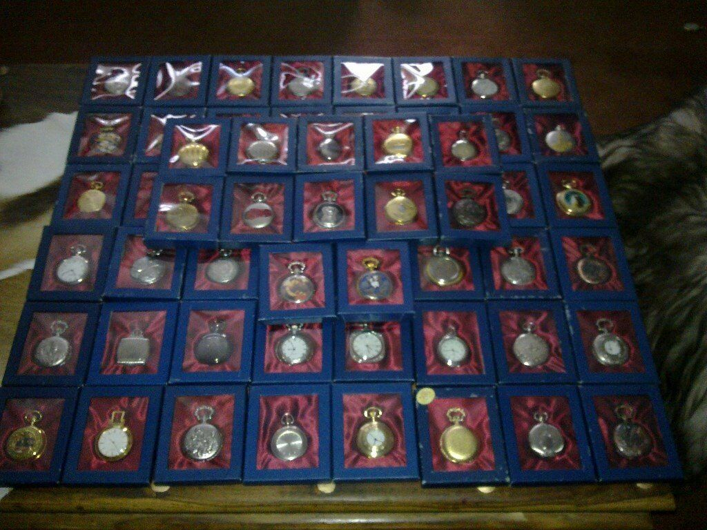 60 POCKET WATCHES