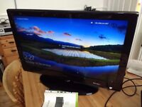 HD freeview tv… 32 inch fully working with remote control and manual