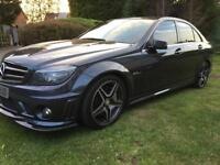 C63 amg px swap full d cat and remapped 500bhp+