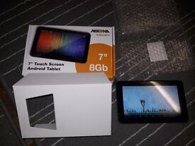 "7"" android tablet ( sold ) but i have another one for £25"