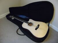 Hagstrom Sidre2-CE Electro Acoustic Guitar