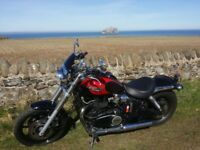 Triumph Speedmaster 865, 11months MOT, alarm triumph-cat1 fitted, service history, lots of extras !