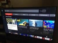 sony 4k/3d 55inch tv with warranty!
