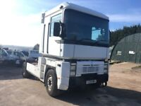 RENAULT MAGNUM 430 TRACTOR UNIT 430 MACK ENGINE ALL DRIVING WELL VERY TIDY ONE FOR THE COLLECTOR!