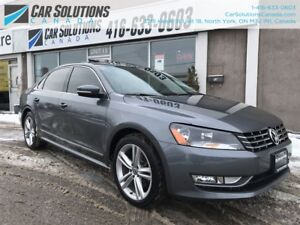 2015 Volkswagen Passat TDI-NAVI-LEATHER-SNROOF-CAMERA