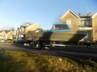 15f fishing boat + trailer