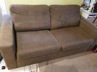 Brown Two Seater Sofa from Next
