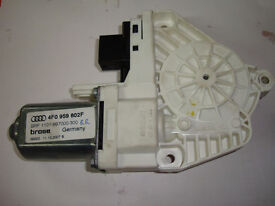Audi A6 C6 2004 - 2011 driver side rear passenger door electric window motor 4F0959802F