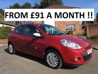 2010 RENAULT CLIO i-MUSIC 1.1 ** 21,302 MILES ** YES 21,302 MILES ** FINANCE AVAILABLE **