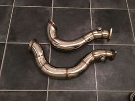 """Richter 3"""" downpipes BMW N54"""