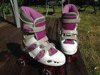 Excellent Condition Phoenix Quad Girl Roller Skates- Size 4