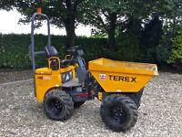 Terex HD1000 1 Ton High Lift Tip Dumper 890 Hours Excellent Condition