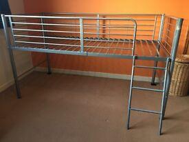 Metal frame midi sleeper/cabin bed