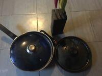 TEFAL frying pans