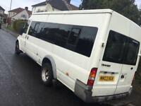 Ford transit minibus 17 seater NEEDS CLUTCH excellent engine and box