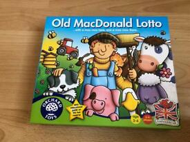 Orchard Games Old MacDonald Lotto