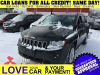2013 Jeep Compass Sport/North * AUTO LOANS FOR ALL CREDIT
