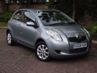 AA WARRANTY!! 2008 TOYOTA YARIS 1.0 VVT-i TR 3dr, LONG MOT, 1 FORMER KEEPER. FINANCE AVAILABLE