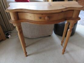 Pine Hall Console Table