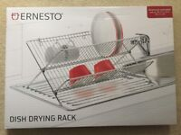 NEW - Foldable Dish Drying Rack