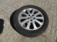 vauxhall zafira alloy wheels